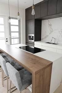Global Kitchen Design : 20 coins bars adopter dans une cuisine ~ Markanthonyermac.com Haus und Dekorationen