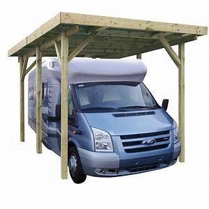Carport Camping Car : carport en bois pour camping car x m ~ Dallasstarsshop.com Idées de Décoration