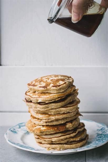 Pancakes Honey Animated Oat Recipe Pancake Waffles