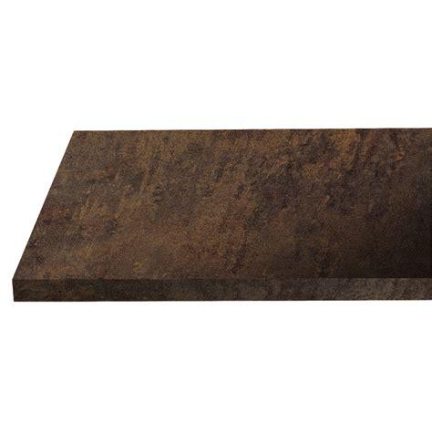 plan de travail cuisine largeur 90 cm plan de travail stratifi cuivre mm with plan de