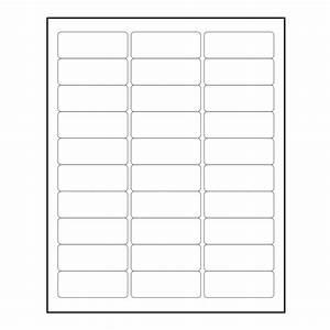 3000 Blank 1 U0026quot  X 2 8 U0026quot  Return Address Labels Inkjet