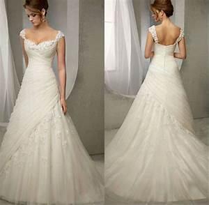 turmec sweetheart neckline wedding dress with cap sleeves With sweetheart neckline wedding dress