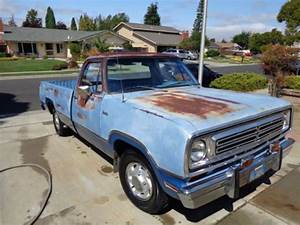 Sell Used 1972 Dodge Sweptline D100 3 Speed Manual On The