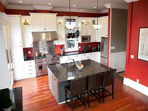 10 kitchen color ideas we love colorful kitchens With kitchen colors with white cabinets with horizontal inspirational wall art