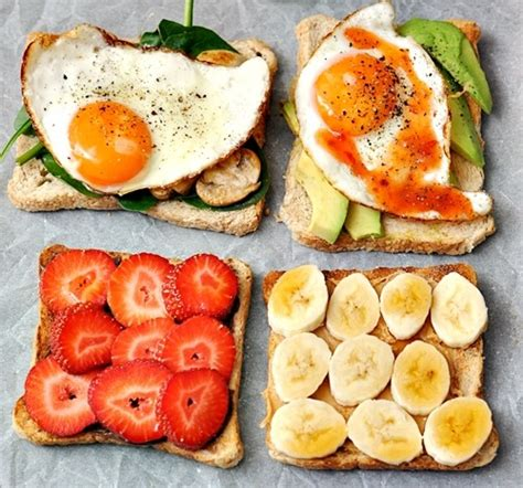 tasty breakfast ideas toast ideas tumblr