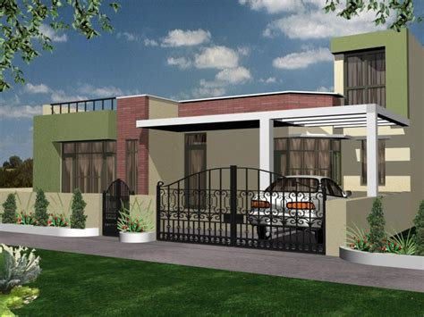 Home Design Excellent Simple Exterior Design With Small