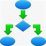 Flow Icon Clipart Diagram Algorithm Icons Process