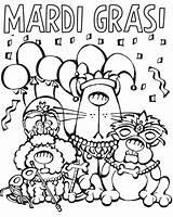 Mardi Gras Coloring Pages Cartoon Printable Parade Characters Posadas Mask Las Sheets Colornimbus Masks Float Fun Getcolorings Animals Tuesday Jester sketch template