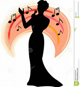 Singer Silhouette Clipart - Clipart Suggest