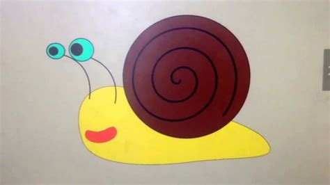 Funny Cartoon Snails