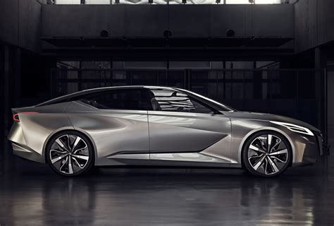 nissan vmotion  concept hints  future sedan design
