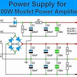 600w Mosfet Power Amplifier