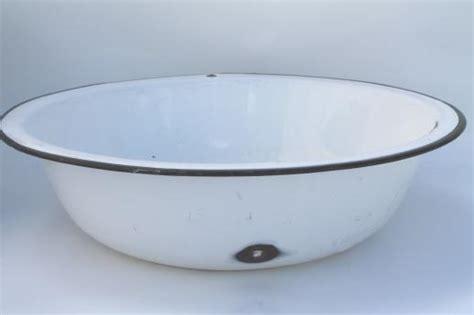 primitive kitchen furniture vintage white black enamelware enamel pots pans