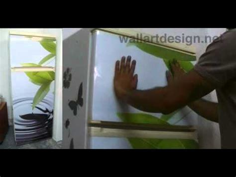 How to apply a magnetic cover to your Refrigerator and