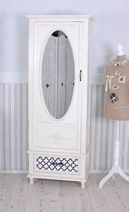 Spiegelschrank Shabby Chic : vintage schrank shabby chic kleiderschrank weiss w scheschrank spiegel ebay ~ Sanjose-hotels-ca.com Haus und Dekorationen
