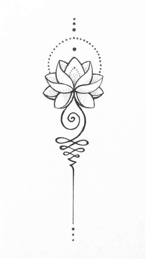 Unalome lotus | Tatuajes inspiradores, Tatuajes elegantes