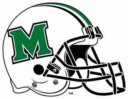 Marshall Helmet Herd Thundering Football College Clipart