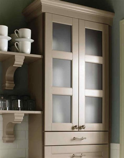 tall kitchen cabinets with glass doors martha stewart living kitchen designs from the home depot