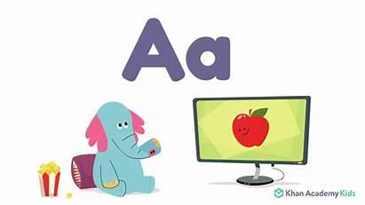 Khan Academy Apple Giphy Elephant Letter Alphabet