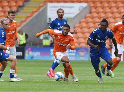 Blackpool's players are showing promising signs ...