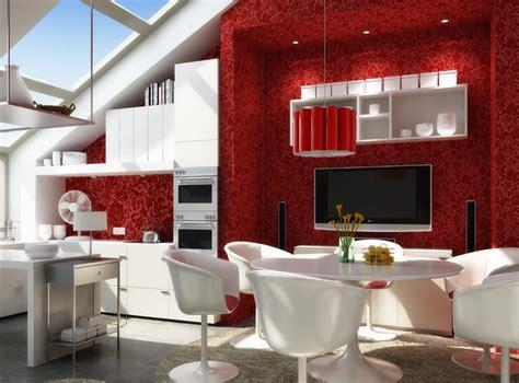 3d posh living dining room cgtrader