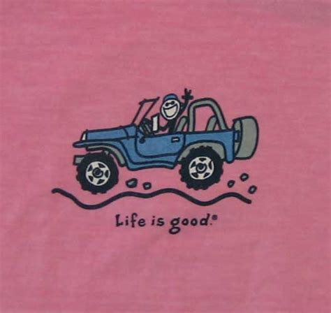 jeep life  good offroad jeep ladies tee