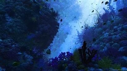 Wallpapers Underwater 3d Render