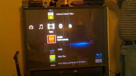 sony blue ray player   youtube   big screen tv