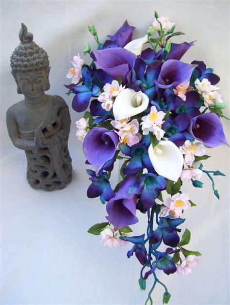 cherry blossom bouquet ideas  pinterest