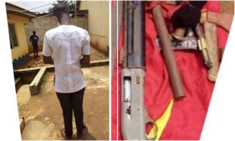 16-year-old boy caught with gun in Anambra school (photo ...