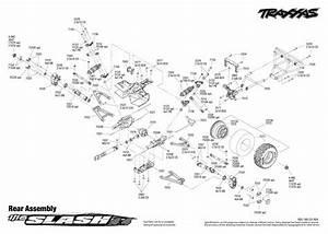 1  16 Slash 4x4 Rear Assembly