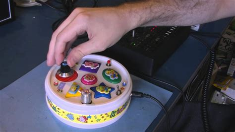 Circuit Bent Drum Toy Freeform Delusion Youtube