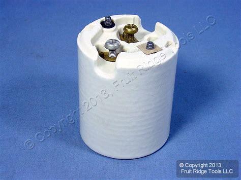 leviton porcelain l holder leviton mogul base keyless light socket porcelain