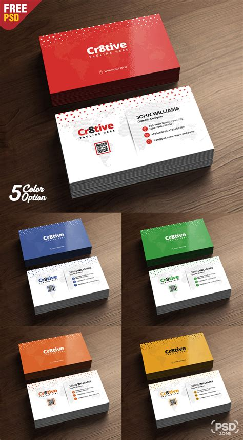 Design Business Cards Free Print Home by Clean Business Card Design Free Psd Psd Zone