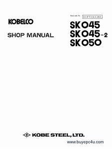 Kobelco Sk045 Sk045