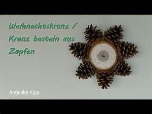 Kranz Aus Tannenzapfen : kranz basteln weihnachtskranz aus zapfen youtube ~ Michelbontemps.com Haus und Dekorationen
