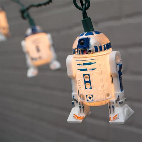 string lights wars r2d2 outdoor green wire 11 ft