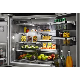 KitchenAid KRMF706ESS 5 Door Design Platinum Interior