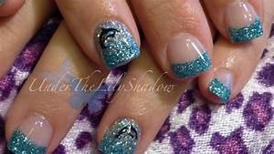underthelilyshadow: ☆★ Dolphin nail art