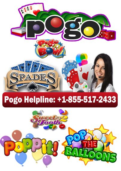 pogo games solution support     tollfree