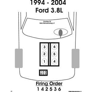 Solved Spark Plug Wiring Diagram For Ford Mustang