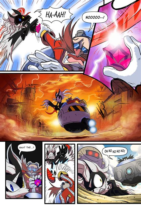 sonic forces digital comic showcases  rise  infinite