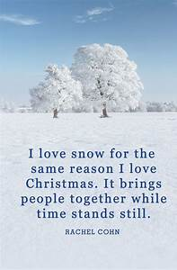 40 Best Winter Quotes - Snow Quotes and Sayings You'll Love