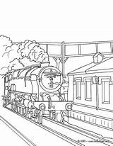 Train Coloring Steam Pages Tunnel Station Locomotive Subway Drawing Getting Drawings Getdrawings Printable 470px 7kb Getcolorings Rail Hellokids sketch template