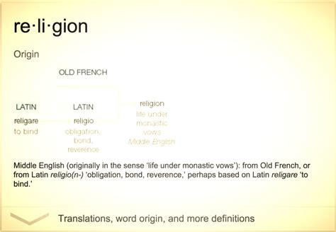 Meaning Of The Word definition of religion the real meaning of the word religion