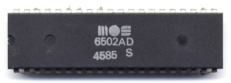 Mos Technology 6502  Computer History Wiki