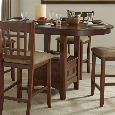 dining tables intercon mission casuals mi ta 4260g dmi bse top pedestal 2090