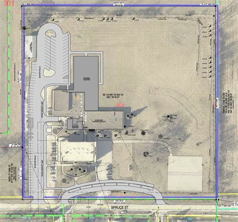 building site plan construction project information adm community school district