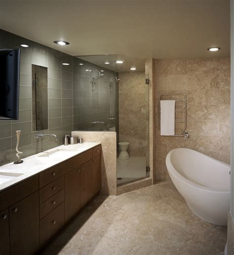 Modern Apartment Bathroom by Modern Bathroom With Minimalist Trends Decoration Channel