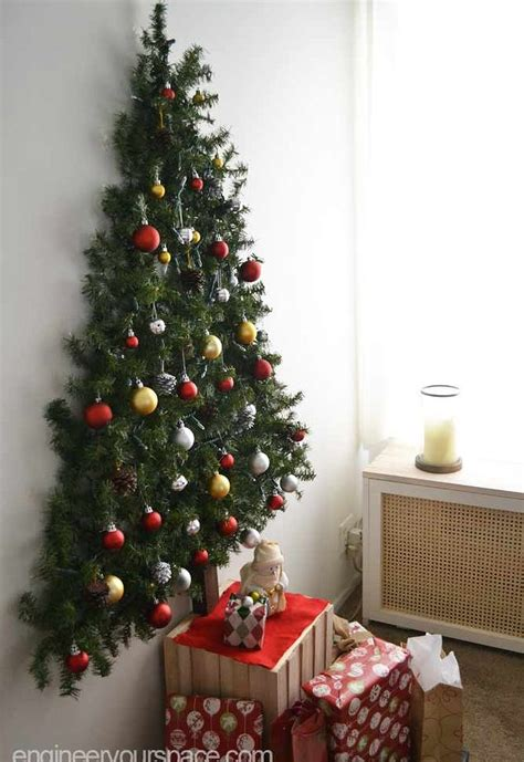wall mounted christmas tree hometalk